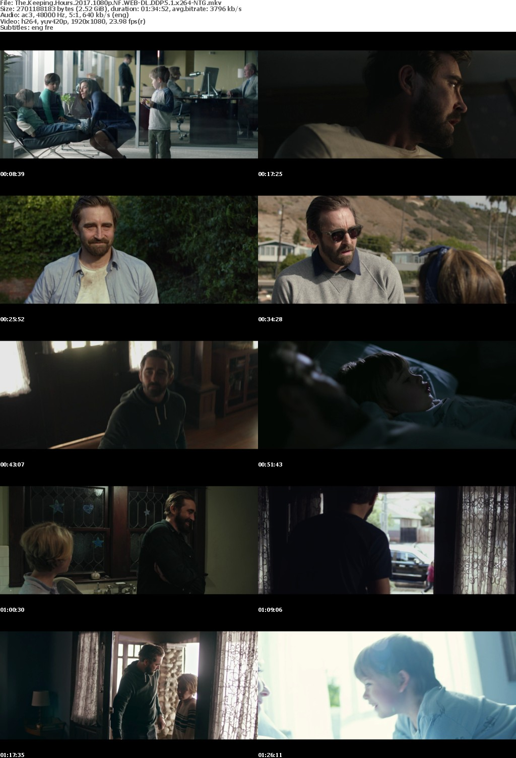 The Keeping Hours (2017) 1080p NF WEB-DL DDP5.1 x264-NTG