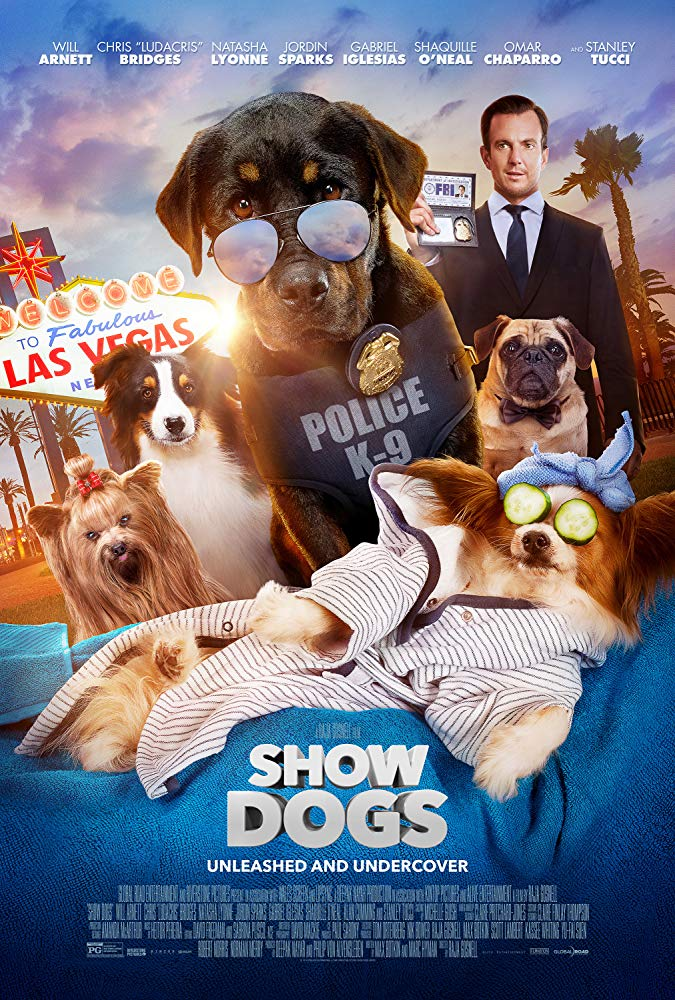 Show Dogs (2018) 720p BRRip x264 ESub MW