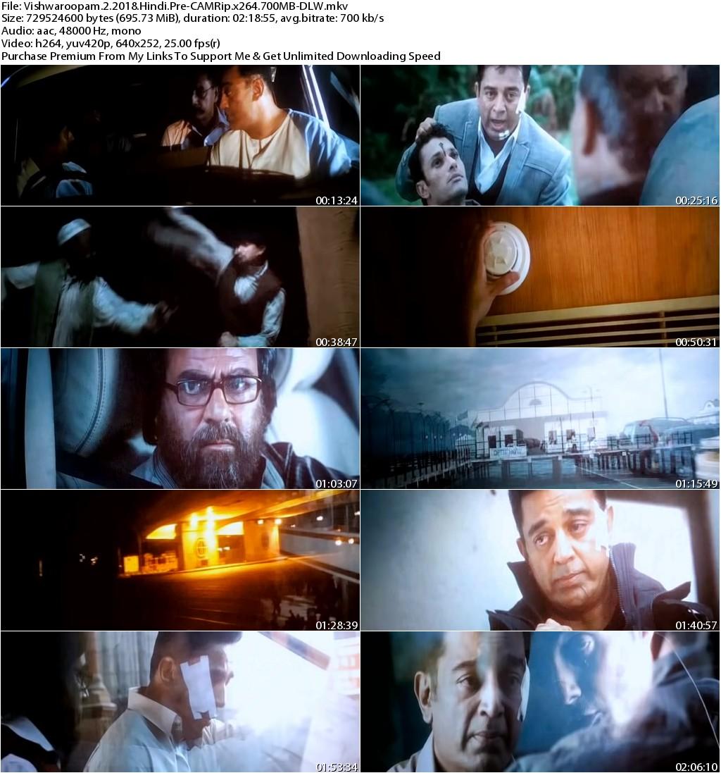 Vishwaroopam 2 (2018) Hindi Pre CAMRip x264 700MB-DLW