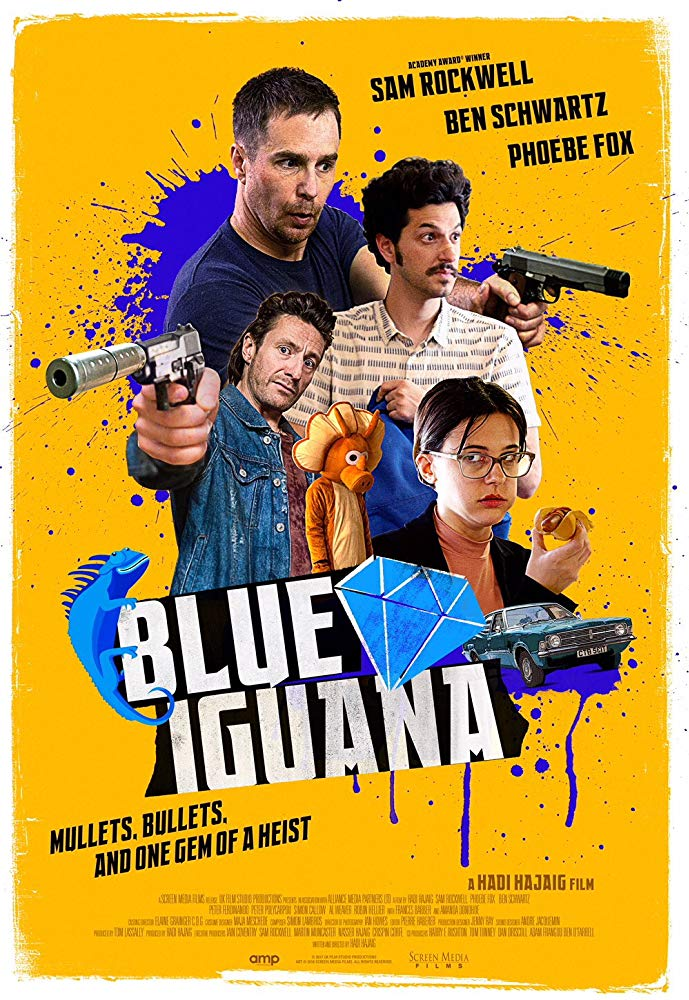 Blue Iguana 2018 HDRip XviD MFH
