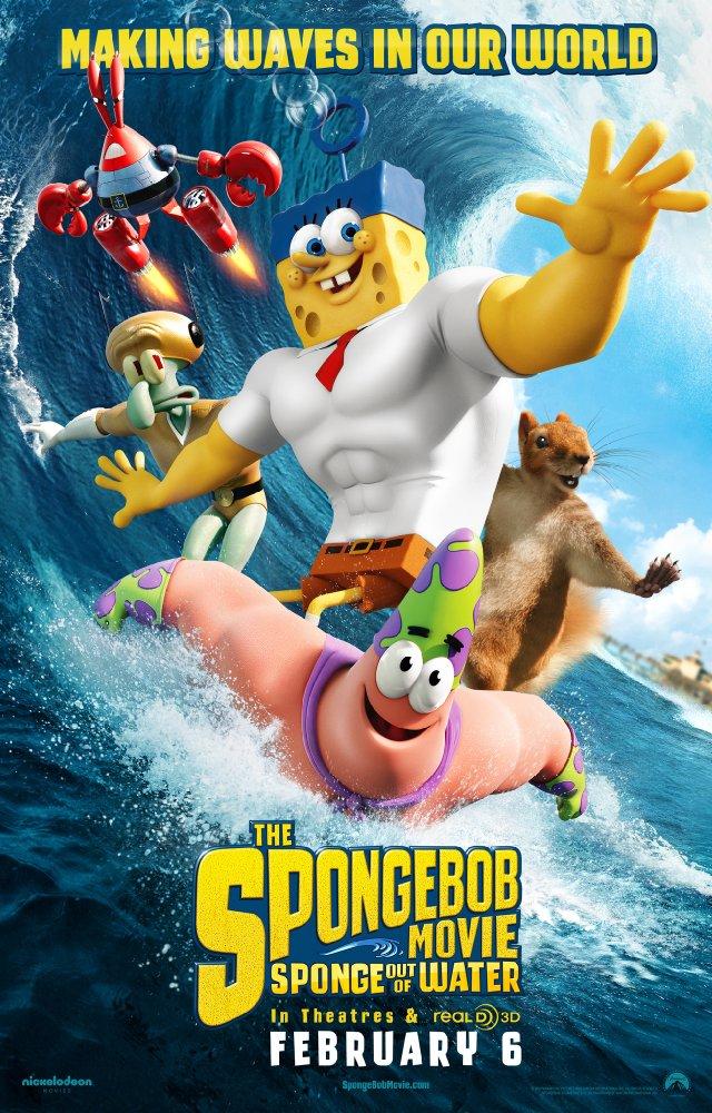 The SpongeBob Movie Sponge Out of Water 2015 720p BRRip x264 ESub MW