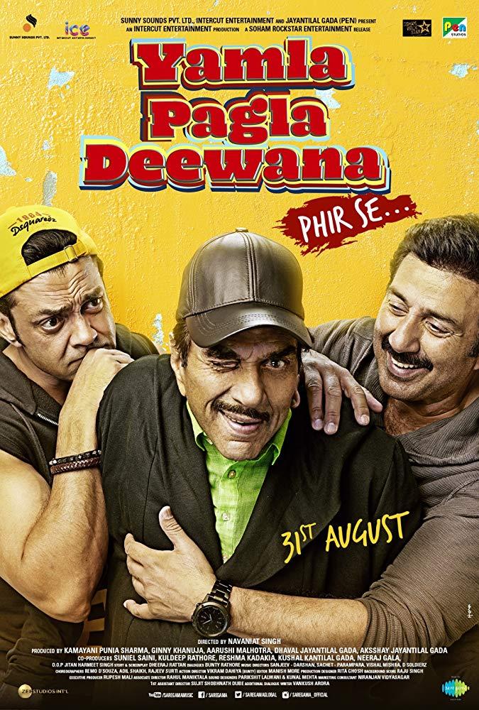Yamla Pagla Deewana Phir Se 2018 Hindi PreDvd 720p x264 - mkvCinemas