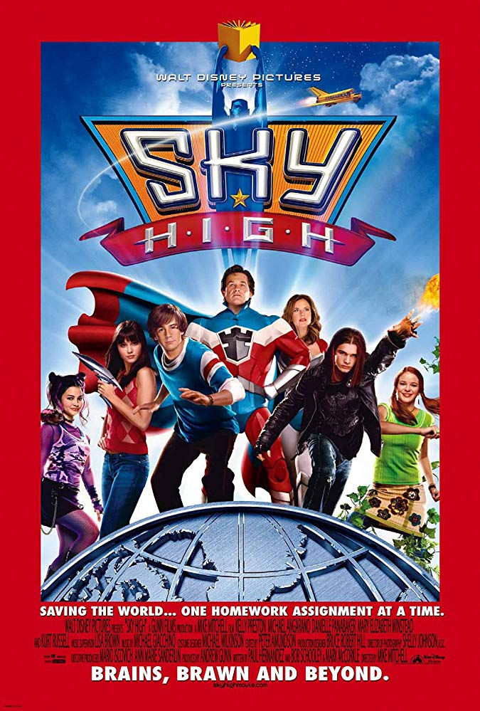 Sky High 2005 BRRip XviD MP3-XVID