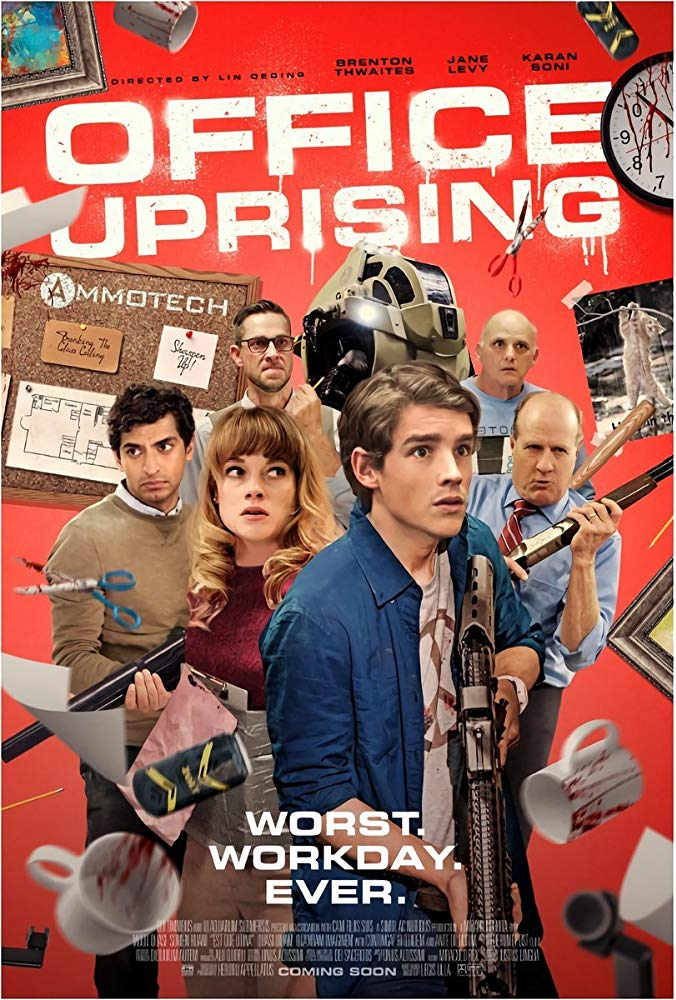 Office Uprising 2018 HDRip XviD AC3-EVO