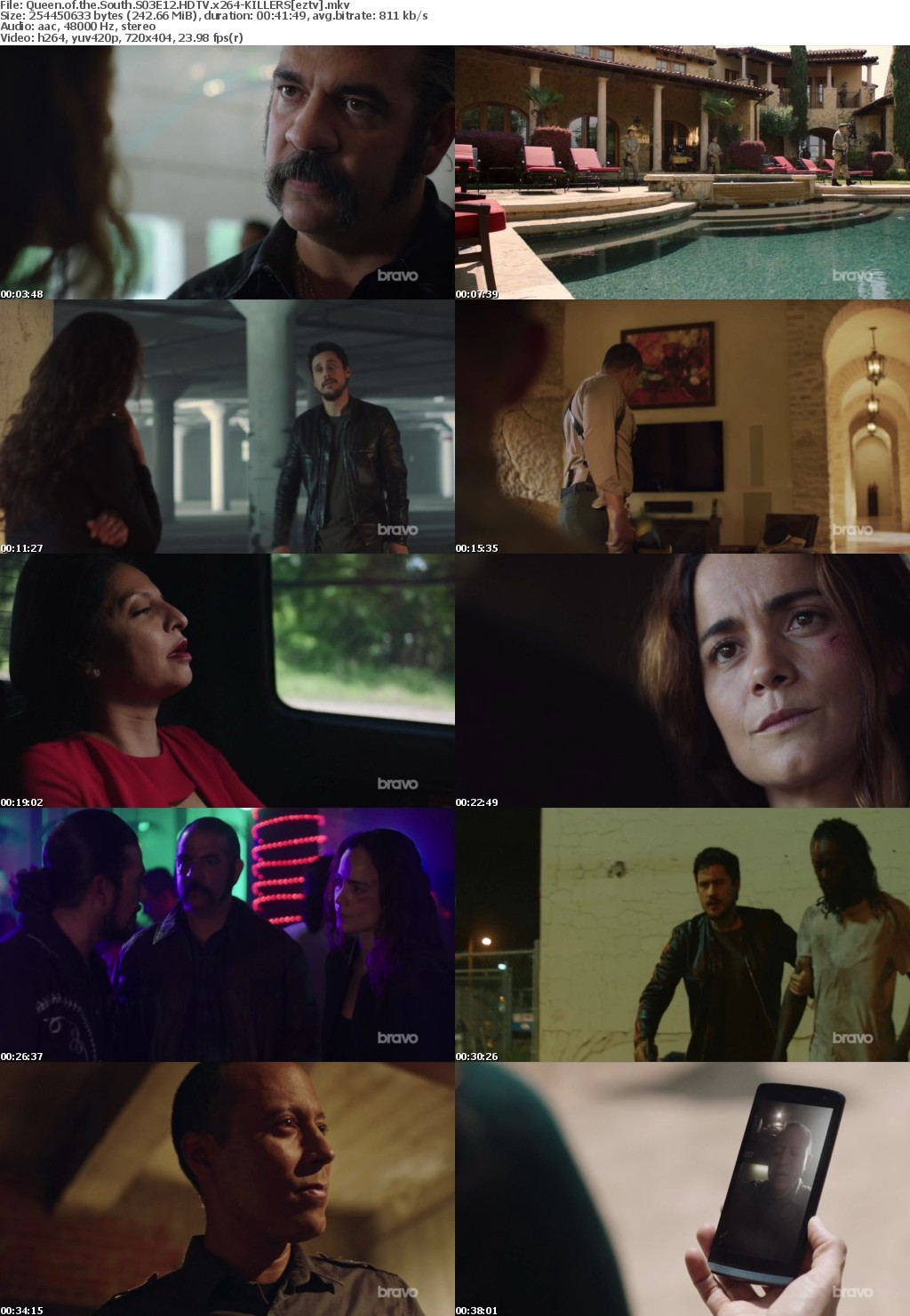 Queen of the South S03E12 HDTV x264-KILLERS