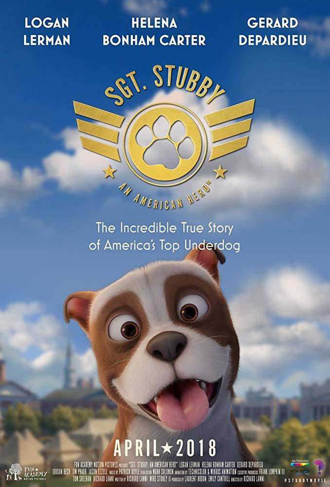 Sgt Stubby An American Hero 2018 720p WEB-DL DD5 1 H264-CMRG[EtHD]