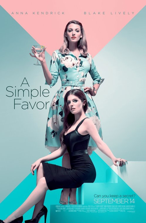 A Simple Favor 2018 HDCAM XViD AC3-ETRG