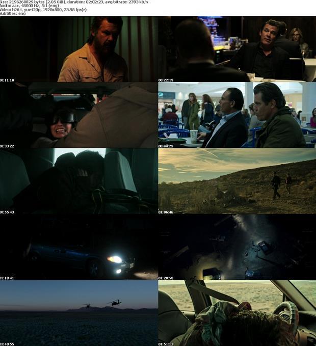 Sicario Day of the Soldado 2018 1080p WEB-DL x264 6CH MkvCage