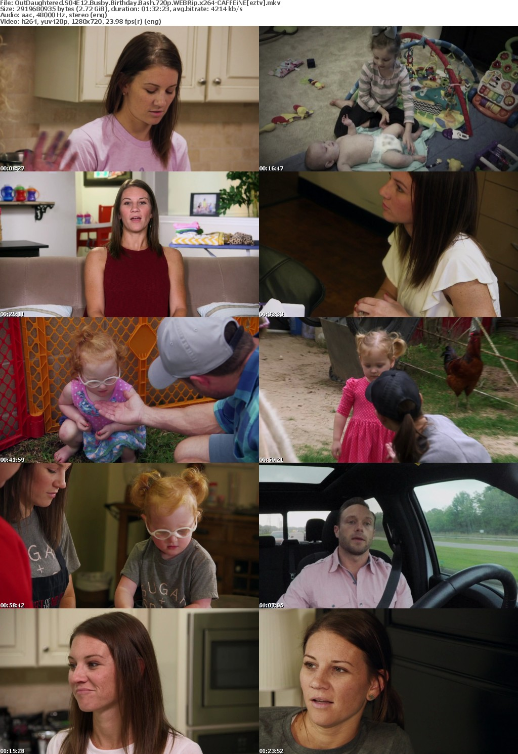 OutDaughtered S04E12 Busby Birthday Bash 720p WEBRip x264-CAFFEiNE