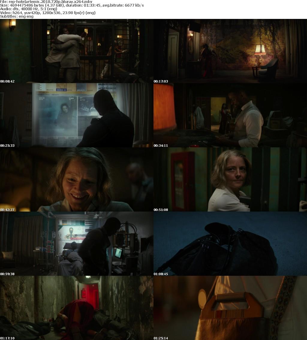 Hotel Artemis 2018 720p BluRay x264-Replica