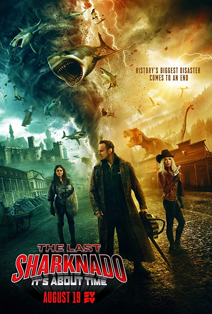 The Last Sharknado Its About Time 2018 1080p BluRay x264 DTS MW