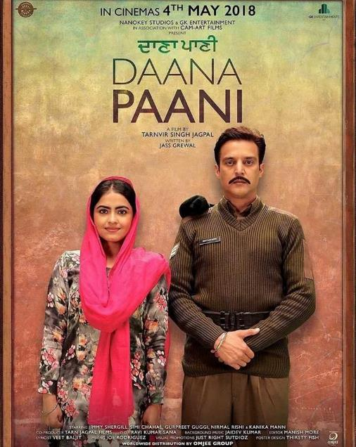 Daana Paani (2018) Punjabi 720p HDRip x264-DLW