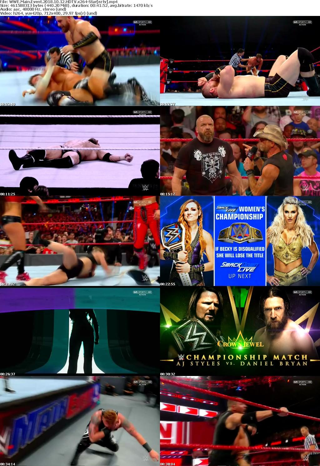 WWE Main Event 2018 10 12 HDTV x264-Star
