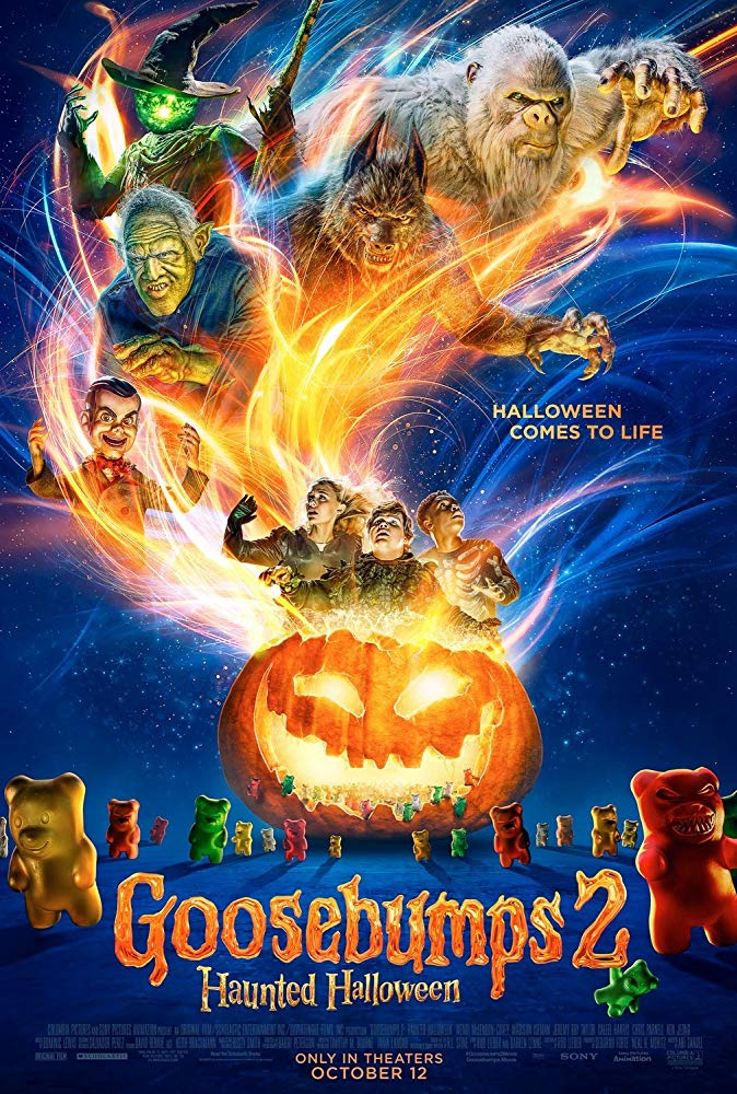 Goosebumps 2 Haunted Halloween 2018 NEW 720p TS-700MB