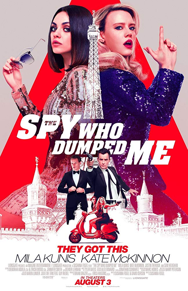 The Spy Who Dumped Me (2018) [WEBRip] [720p] YIFY