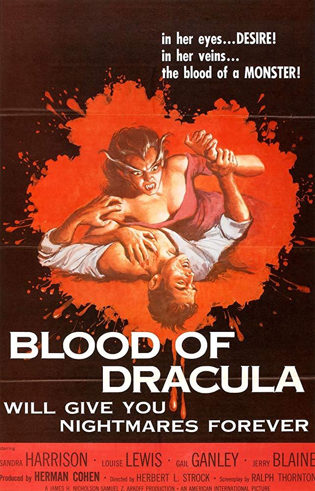 Blood Of Dracula 1957 Dvdrip x264