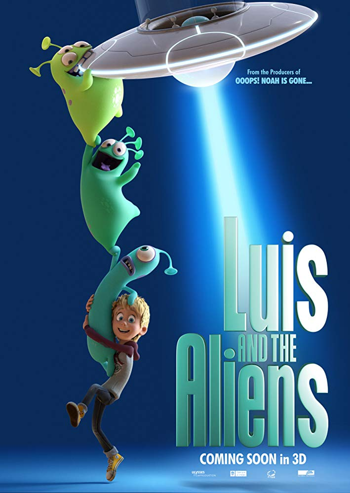 Luis And The Aliens (2018) 720p BluRay x264-SNOW