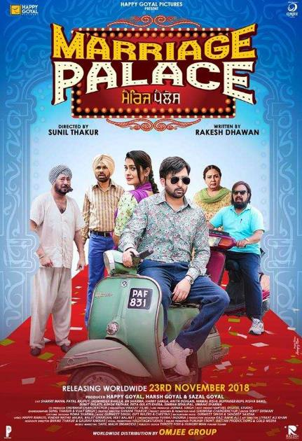 Marriage Palace (2018) Punjabi 700MB Pre-CAMRip x264-DLW