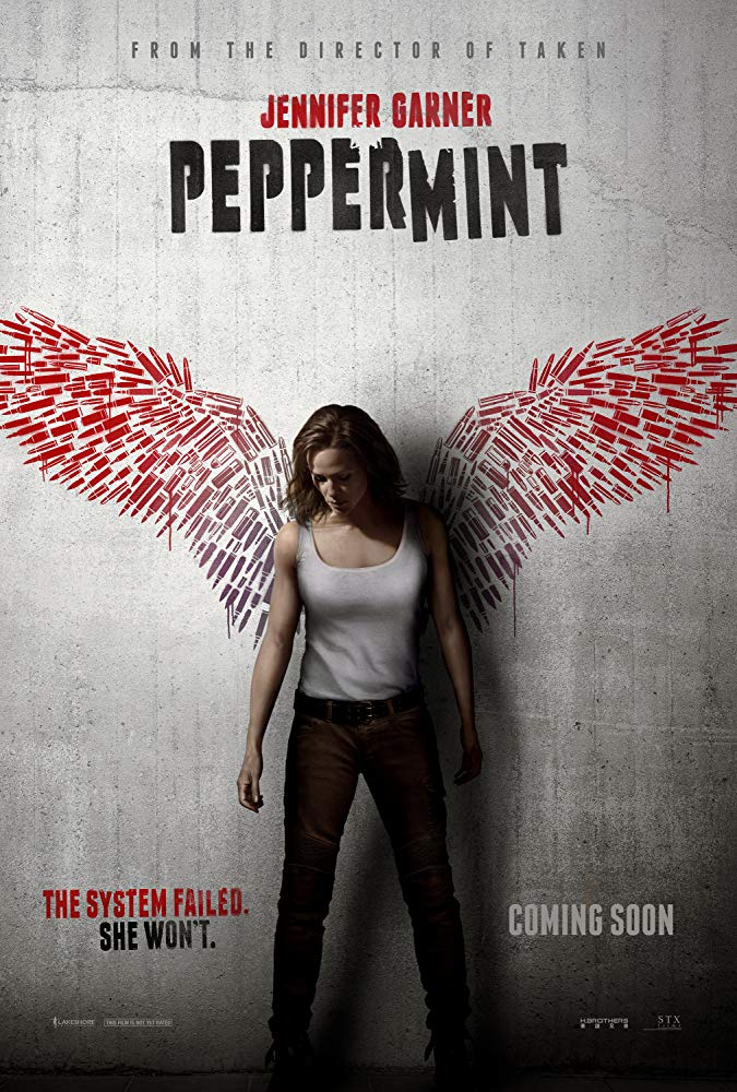 Peppermint 2018 Movies BRRip x264 with Sample