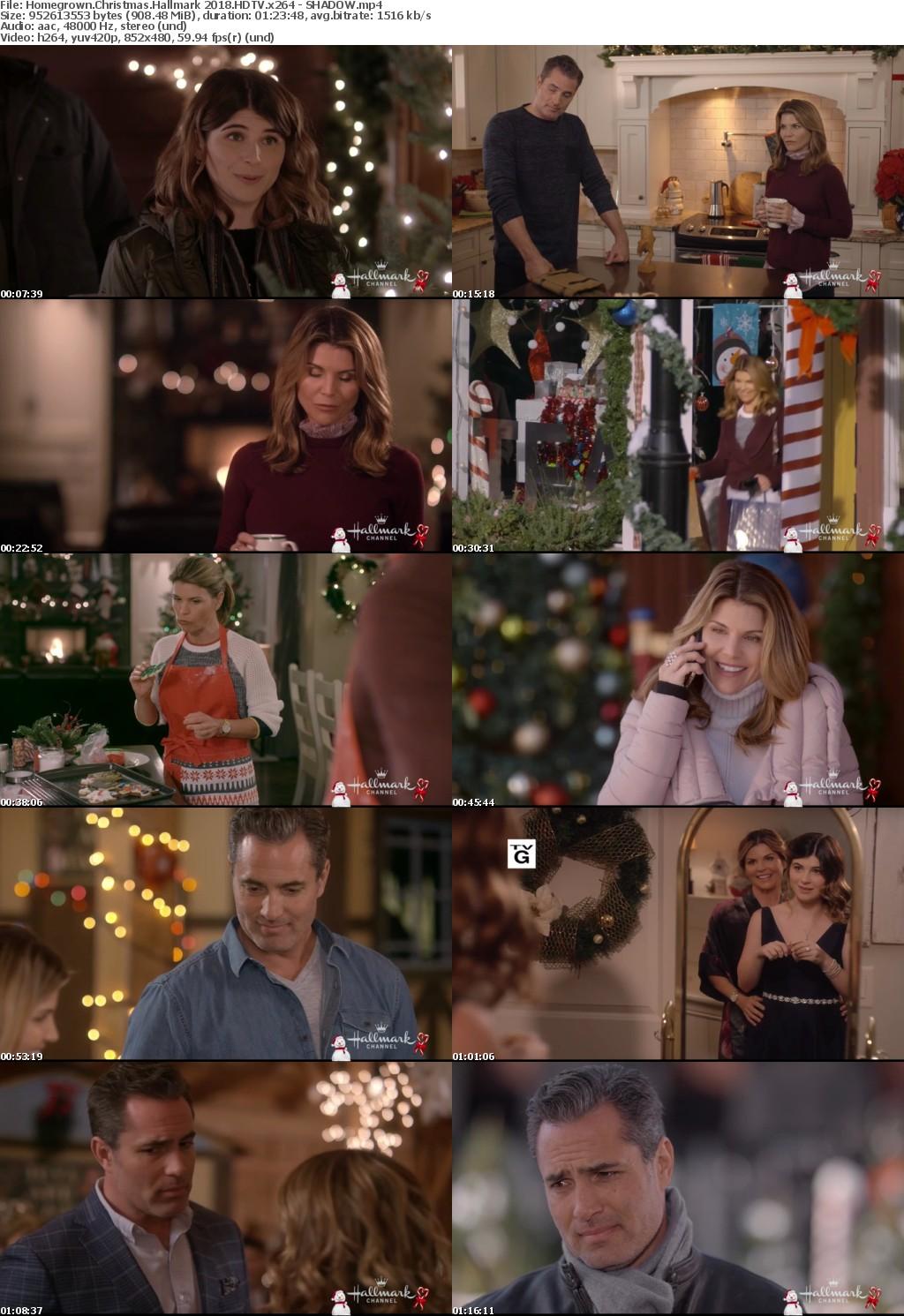 Homegrown Christmas Hallmark (2018) HDTV x264 - SHADOW