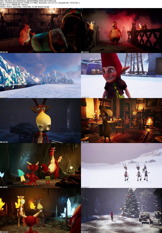 Oh Deer Its Christmas (2018) HDRip XviD AC3-EVO