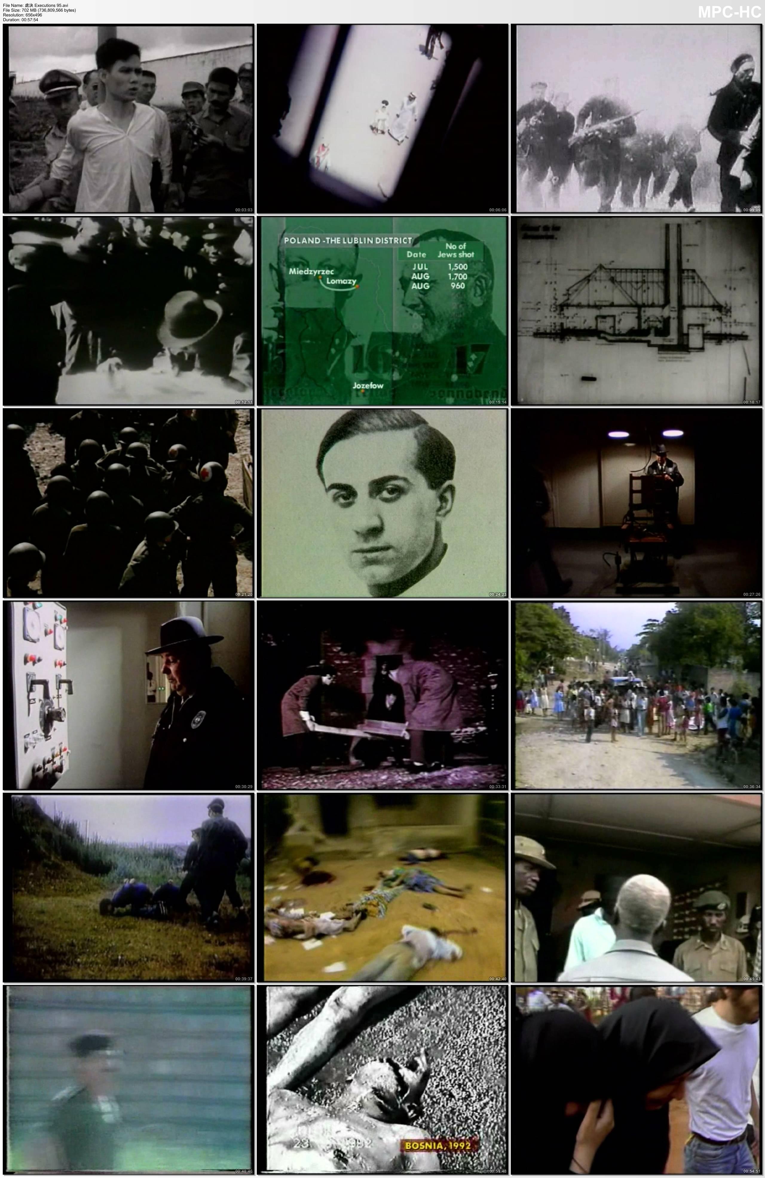 紀錄片《處決/執行/處刑 Executions》驚爆你的眼球DVD英語無字