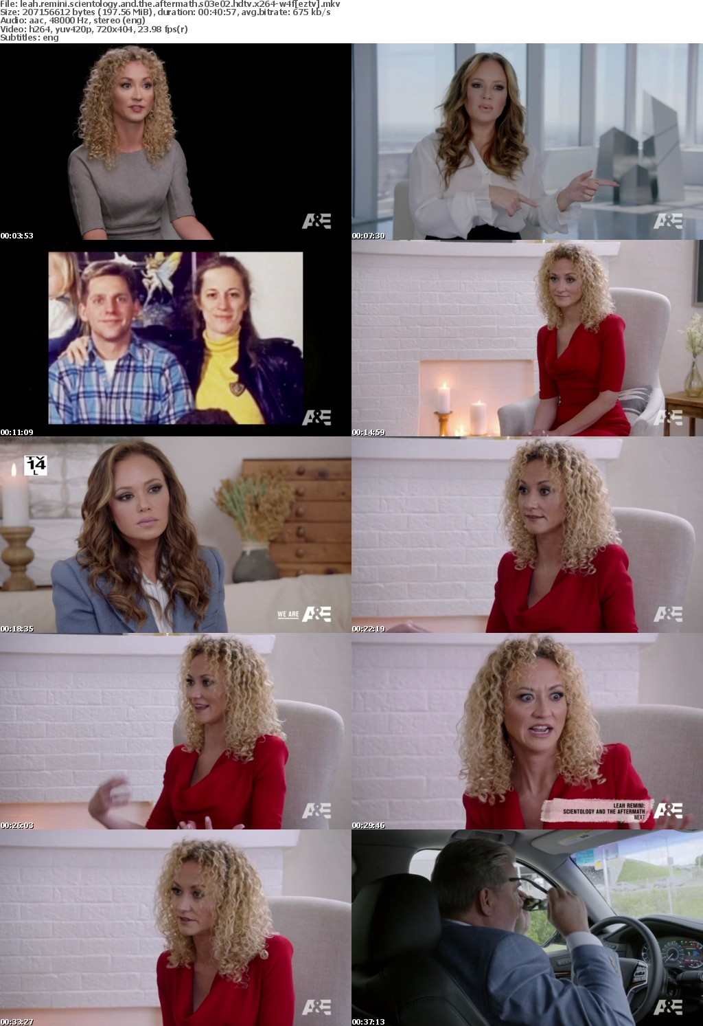 Leah Remini Scientology and the Aftermath S03E02 HDTV x264-W4F