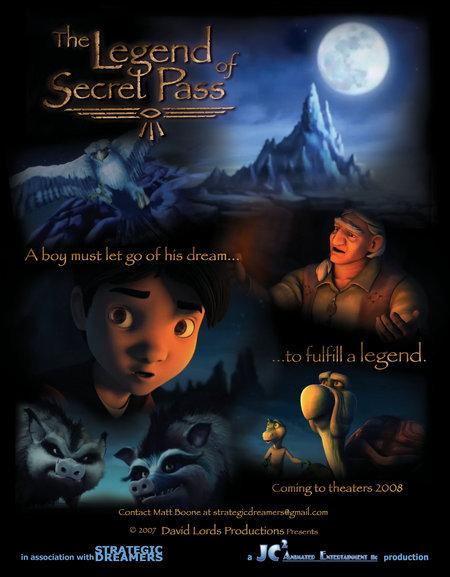 The Legend Of Secret Pass 2019 HDRip XviD AC3-EVO