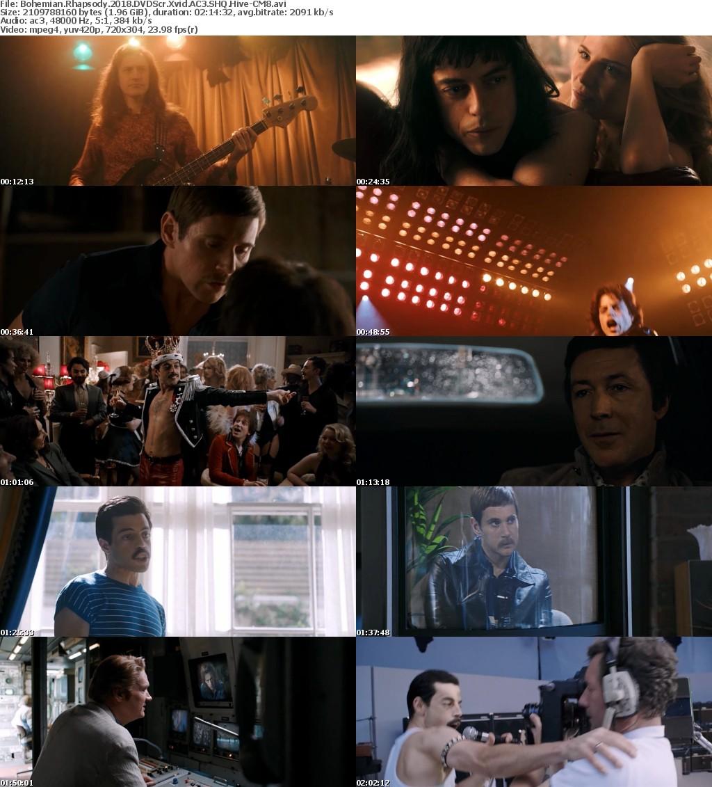 Bohemian Rhapsody (2018) DVDScr Xvid AC3 SHQ Hive-CM8