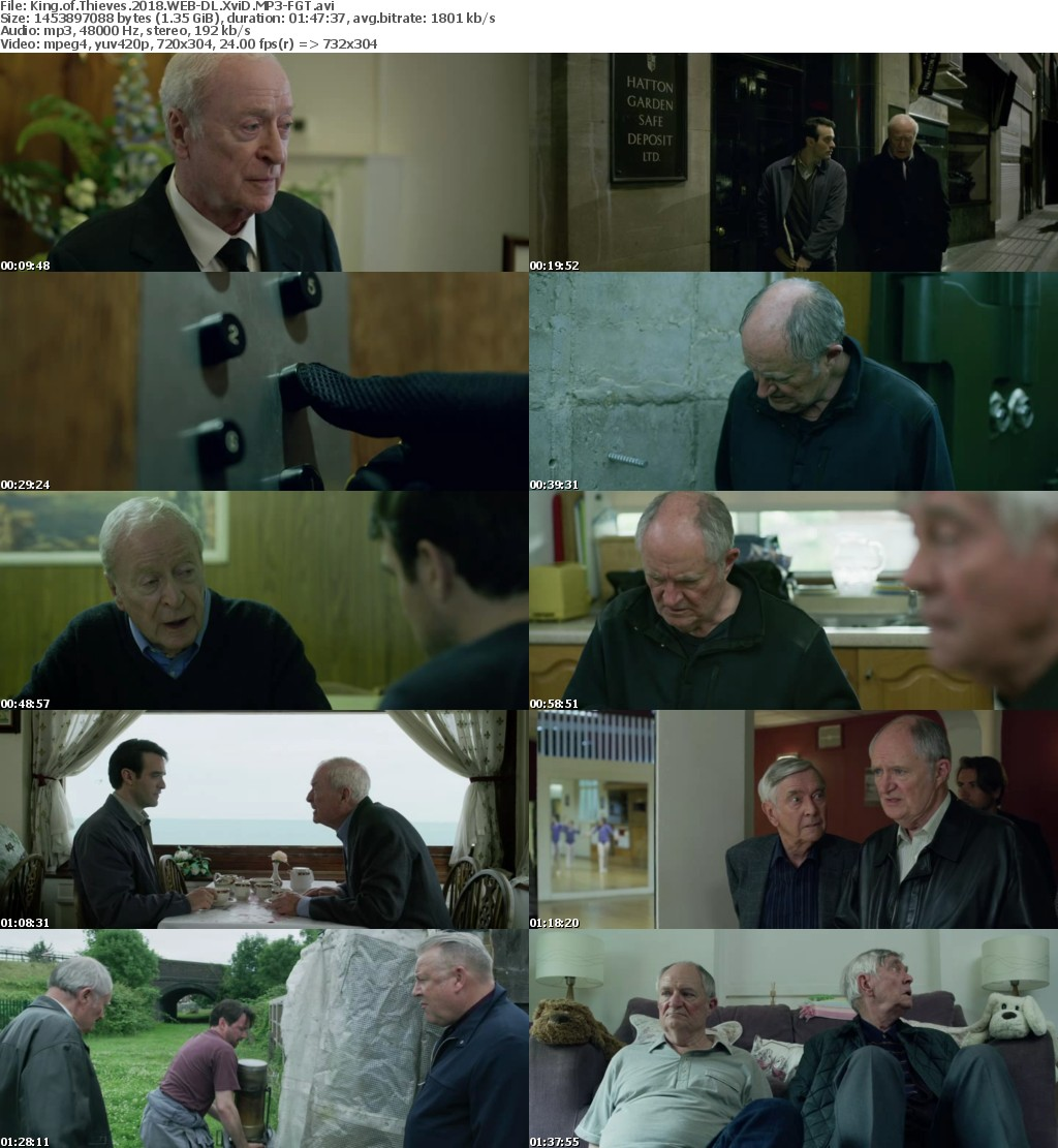 King of Thieves 2018 WEB-DL XviD MP3-FGT