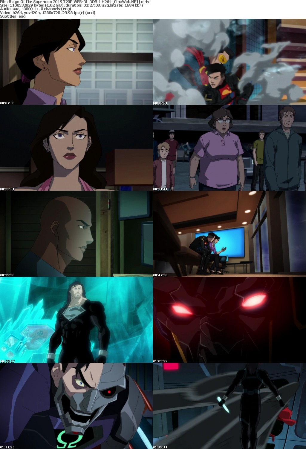 Reign Of The Supermen 2019 720P WEB-DL DD5 1 H264
