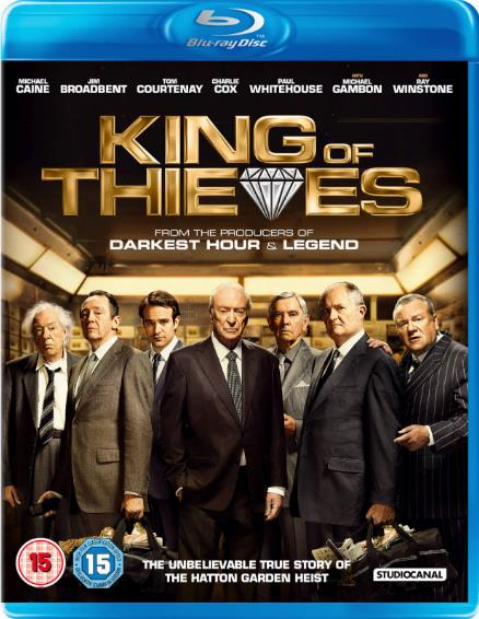 King of Thieves (2018) HDRip AC3 X264-CMRG