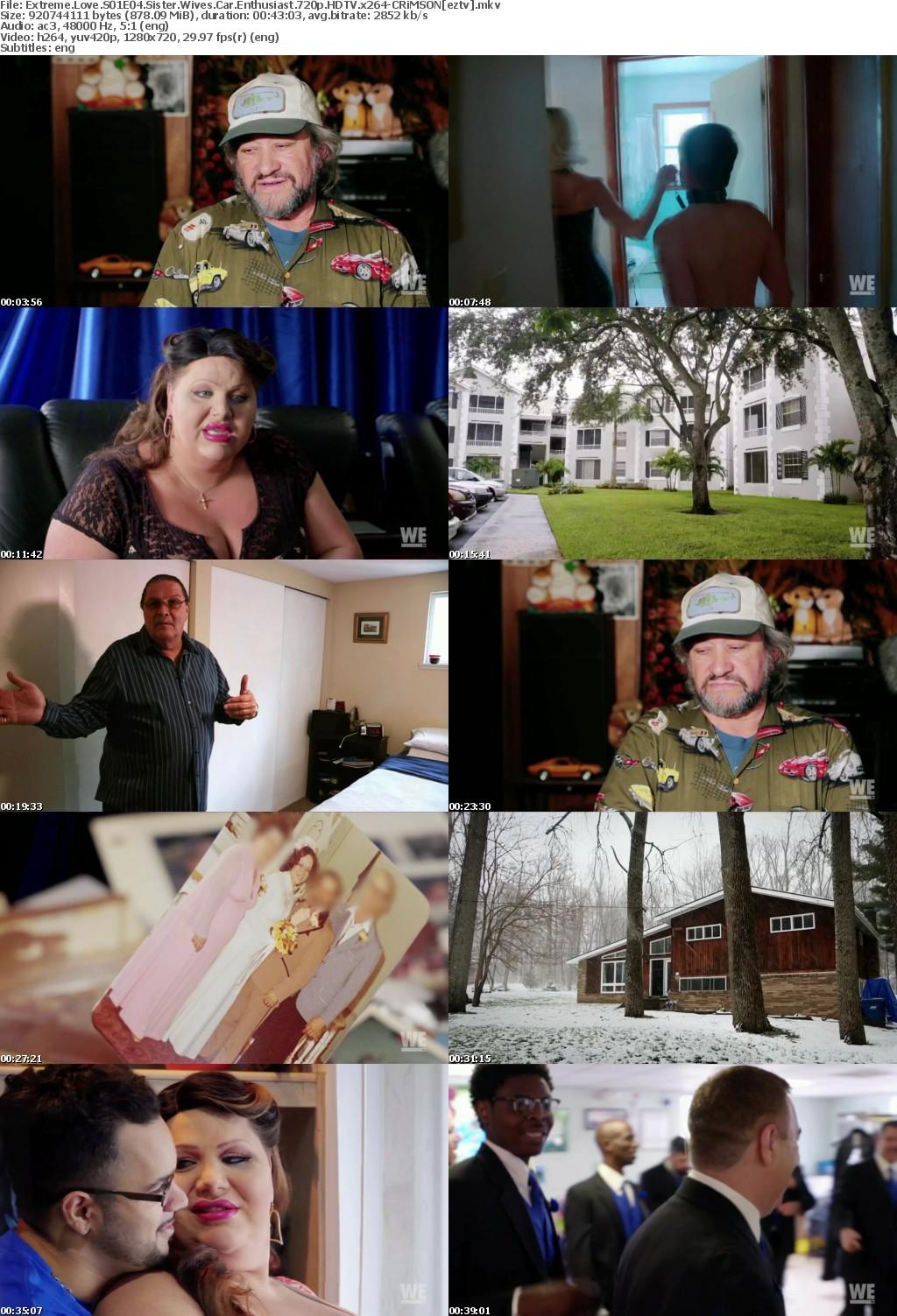 Extreme Love S01E04 Sister Wives Car Enthusiast 720p HDTV x264-CRiMSON