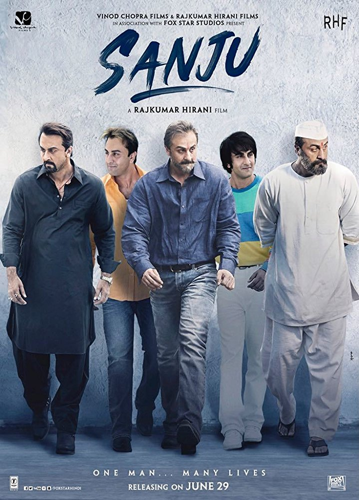 Sanju 2018 BluRay Hindi 720p x264 AAC 5 1 ESub - mkvCinemas [Telly]