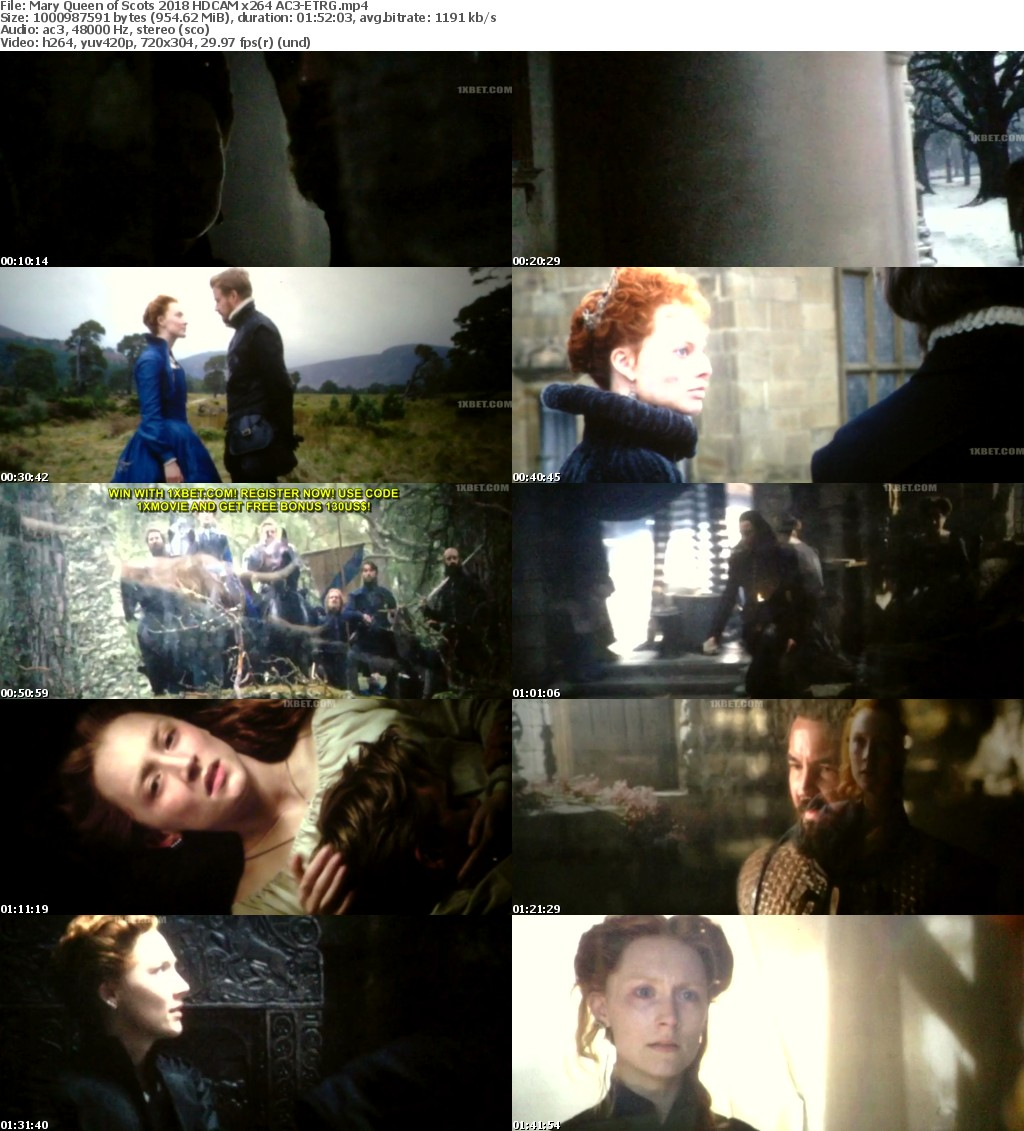 Mary Queen of Scots (2018) HDCAM x264 AC3-ETRG