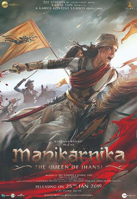 Manikarnika The Queen of Jhansi (2019) Hindi Pre-CAMRip x264-DLW