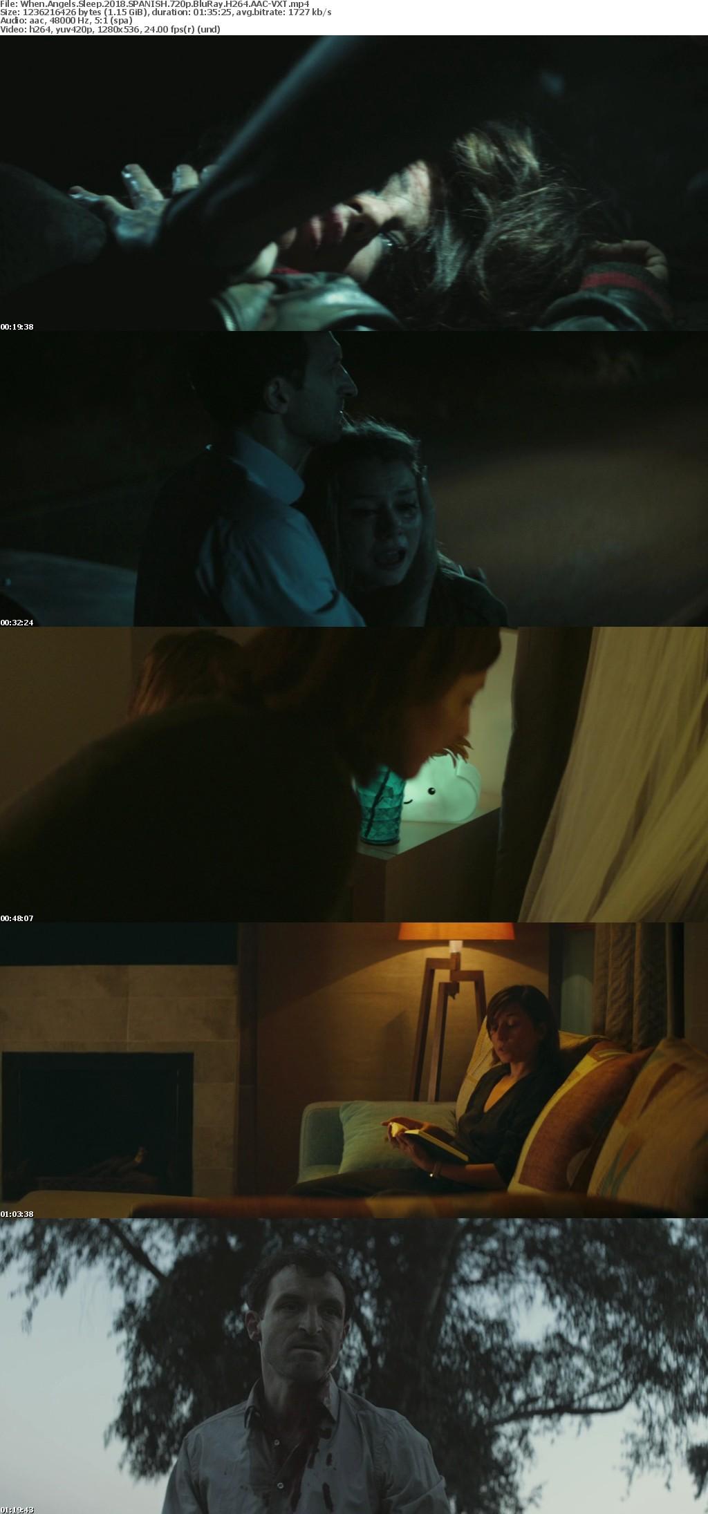 When Angels Sleep 2018 SPANISH 720p BluRay H264 AAC-VXT
