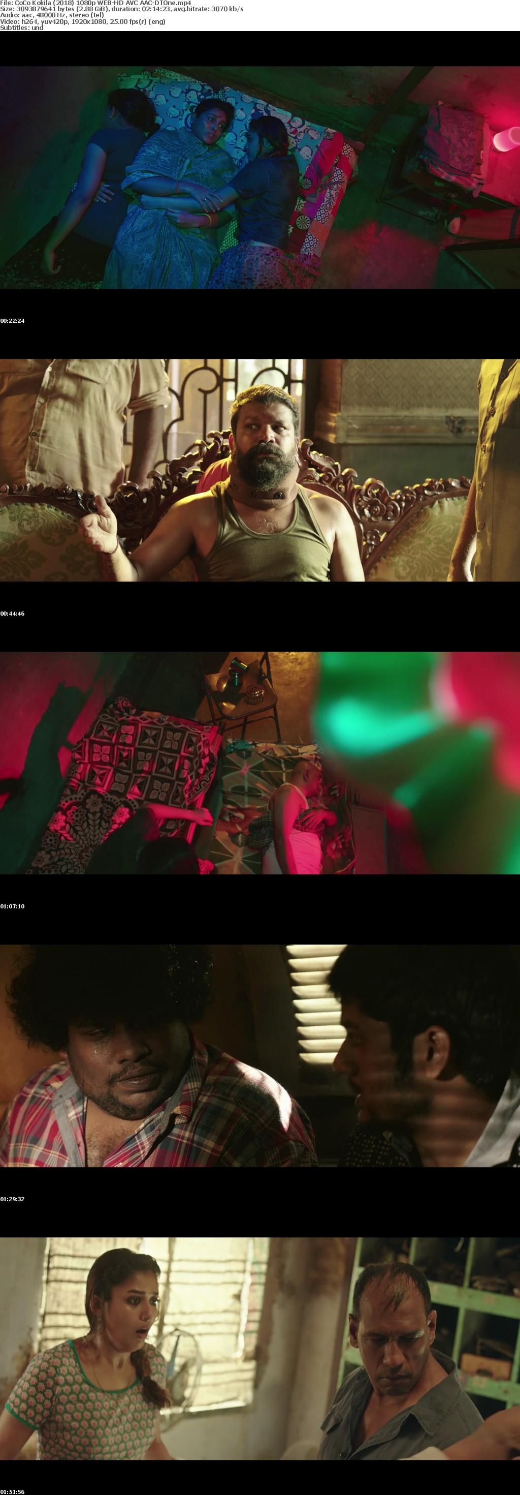 CoCo Kokila 2018 1080p WEB-HD AVC AAC-DTOne