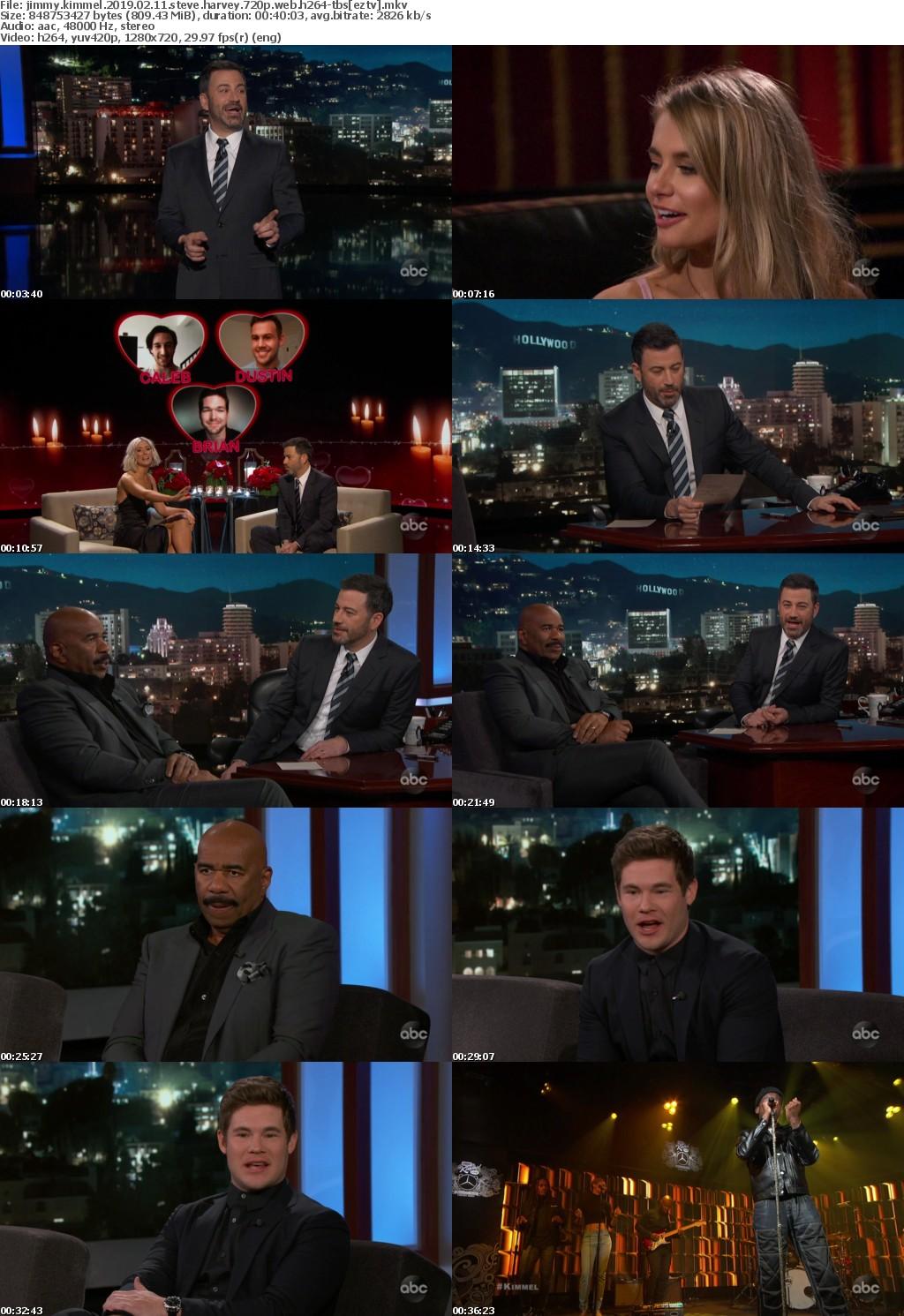 Jimmy Kimmel (2019) 02 11 Steve Harvey 720p WEB h264-TBS