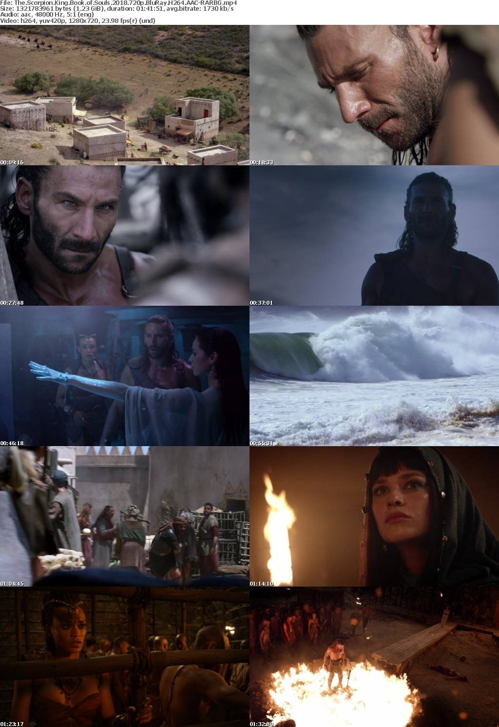 The Scorpion King Book of Souls (2018) 720p BluRay H264 AAC-RARBG
