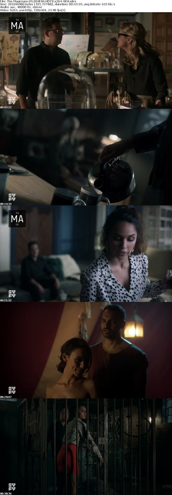 The Magicians US S04E04 HDTV x264-SVA