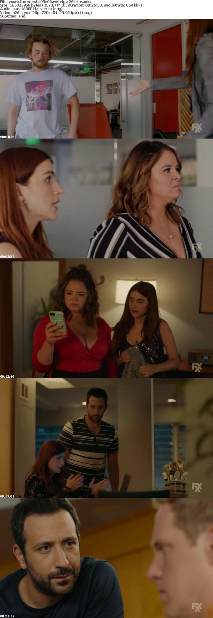 Youre The Worst S05E06 WEBRip x264-TBS