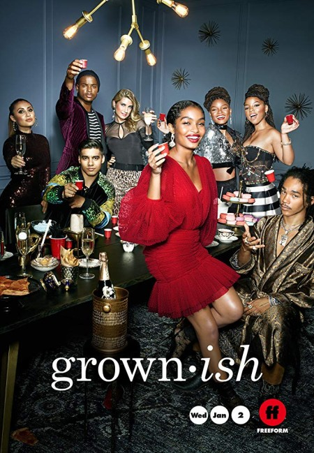 Grown-ish S02E08 Workin Me HDTV x264-CRiMSON