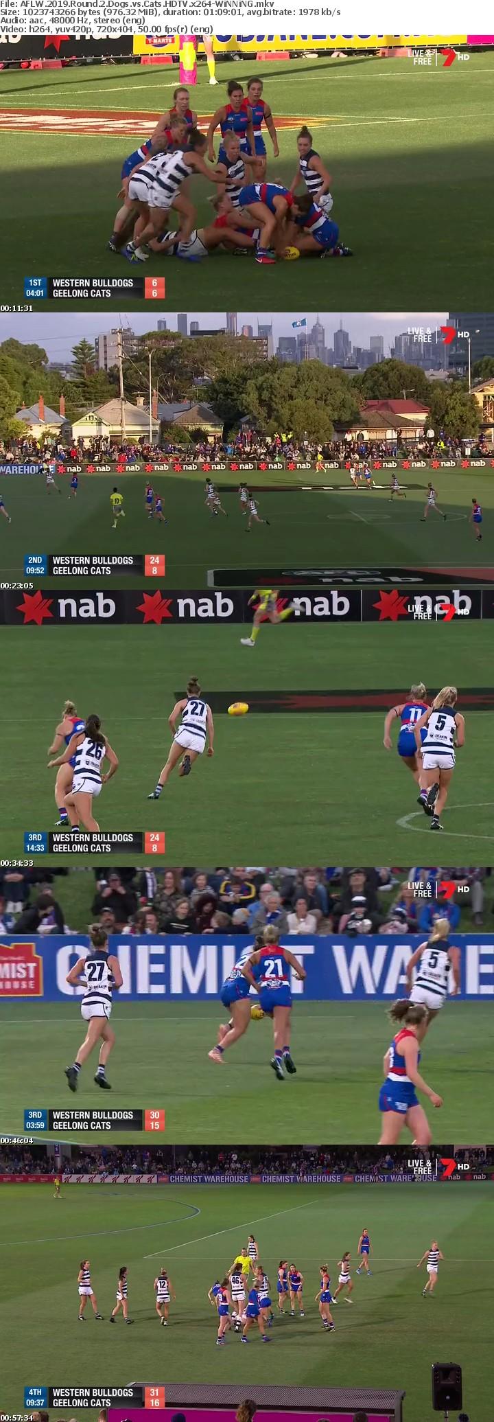AFLW 2019 Round 2 Dogs vs Cats HDTV x264-WiNNiNG
