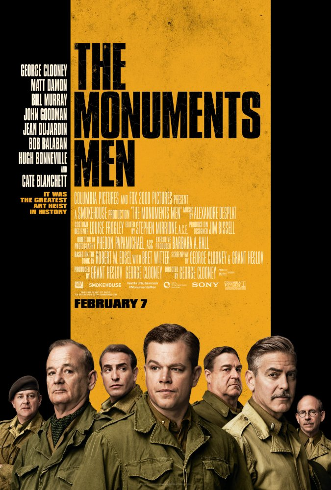 The Monuments Men 2014 [BluRay] [720p] YIFY