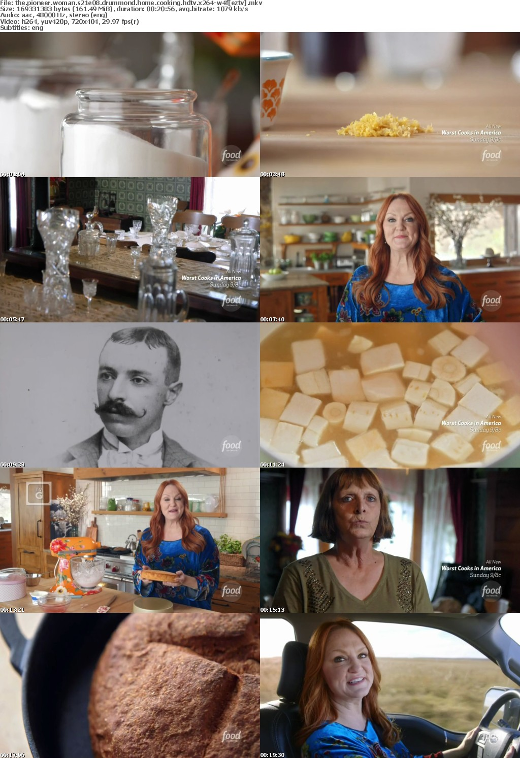 The Pioneer Woman S21E08 Drummond Home Cooking HDTV x264-W4F