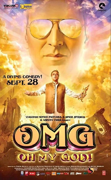 OMG - Oh My God! (2012) Hindi 720p BluRay x264 AAC 5 1 ESubs -Sun George (Requested)