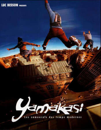 Yamakasi (2001) 720p Web-DL Dual Audio French Hindi ESubs-DLW