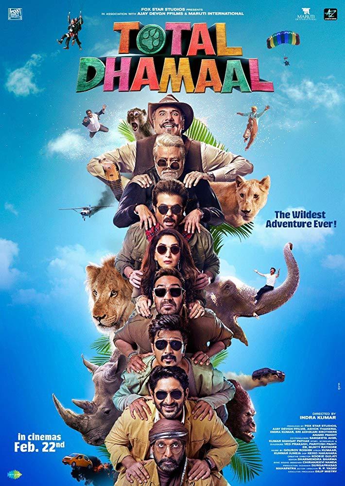 Total Dhamaal 2019 Hindi 720p PRE-DVDRip x264 [MW]