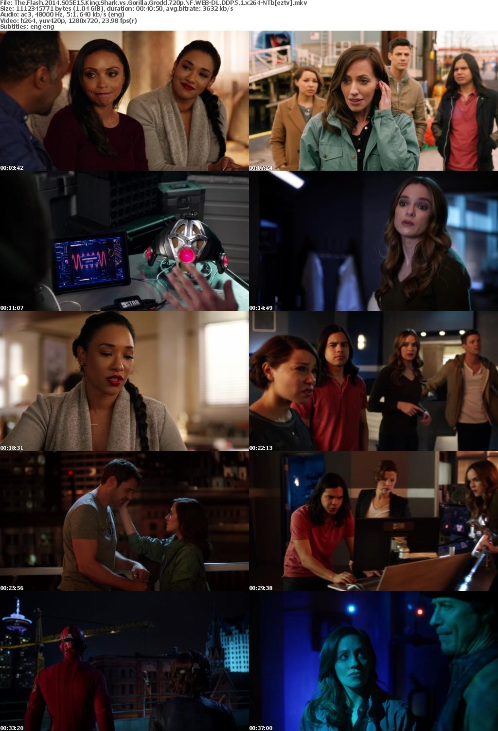 The Flash (2014) S05E15 King Shark vs Gorilla Grodd 720p NF WEB-DL DDP5.1 x264-NTb